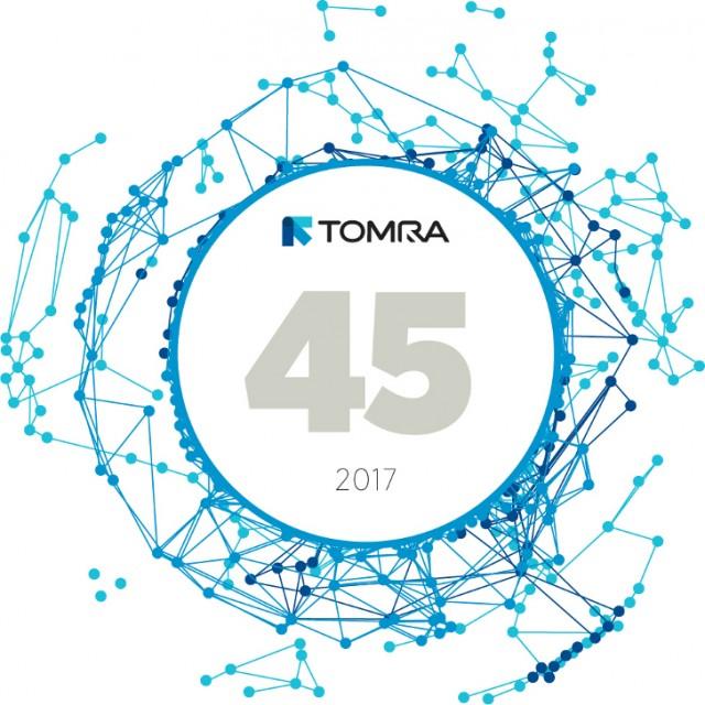 TOMRA celebrates its 45th anniversary following record revenue year