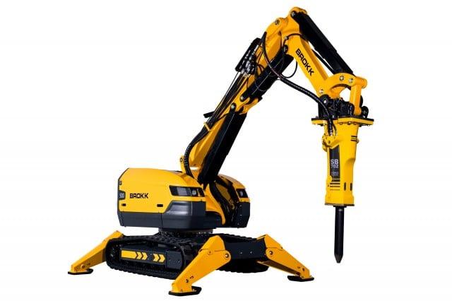 Brokk 500 Demolition Machine introduced