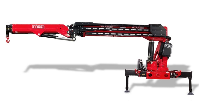 High-performance knuckle boom crane