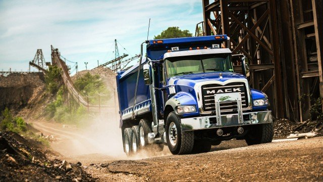 Mack shares extensive display of trucks for CONEXPO