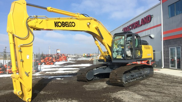 Tractorland named as KOBELCO dealer in Alberta