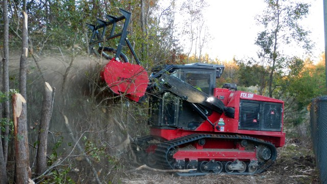 Rubber tracked mulcher added to Fecon tractor line