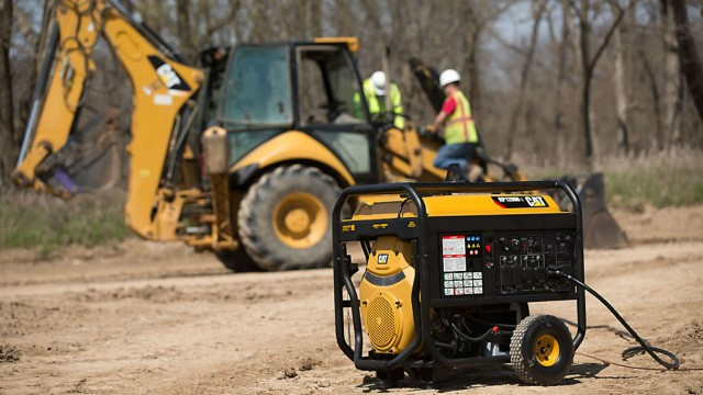 Caterpillar introduces latest in new portable generator product line