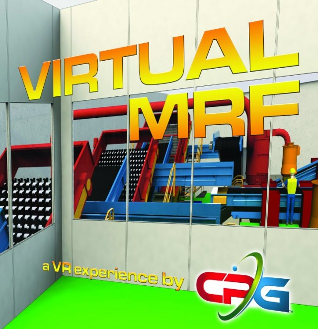 CP Group Unveils Virtual MRF at Waste Expo