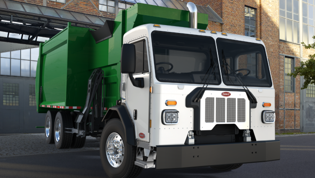 Peterbilt introduces new cab configurations for refuse hauling