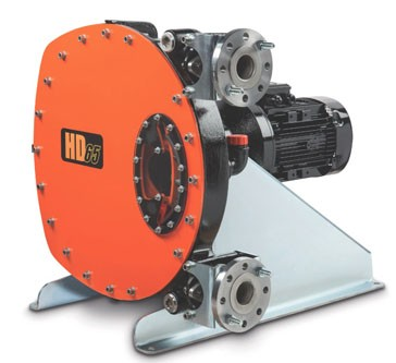 Peristaltic hose pumps redesigned with robust design