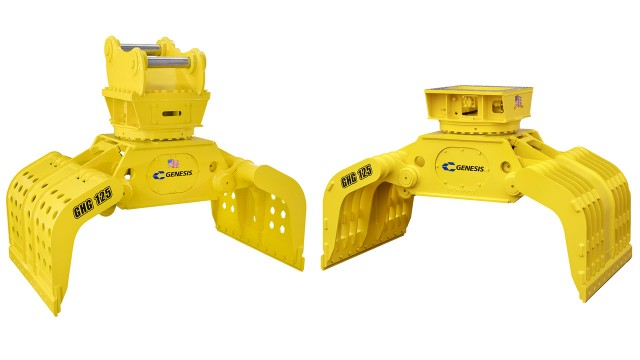 Handling grapple designed with streamlined features