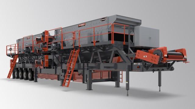 Tandem screen plant offers operators processing options