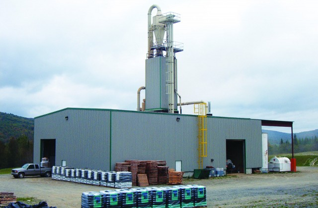 Besides their composting operations, Envirem Organics runs two organic fertilizer plants and three pellet mills