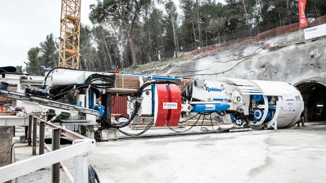 Robbins TBM Takes on Eighth Bore for Galerie des Janots Project