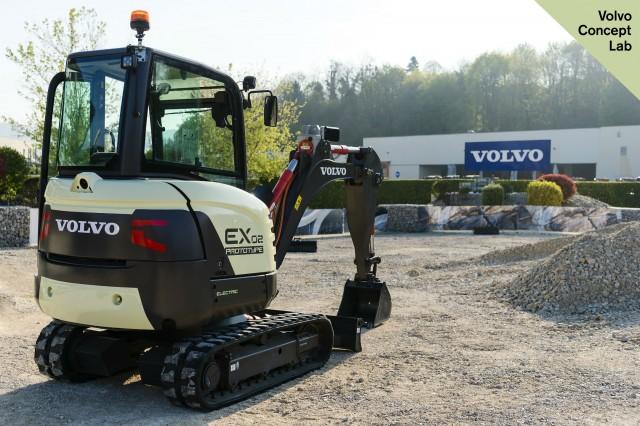 Volvo CE unveils 100% electric compact excavator prototype