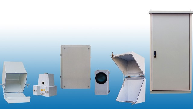 Antistatic coating for hazardous area enclosures