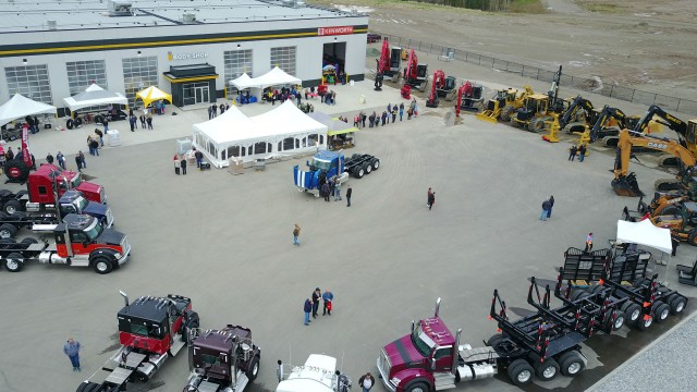 Inland Kenworth Celebrates Grand Opening for New Prince George, B.C., Location