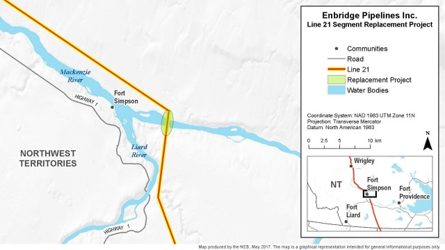 Hearings scheduled on Line 21 pipeline section replacement