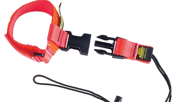Wrist lanyards provide tool interchangeability for worksite safety