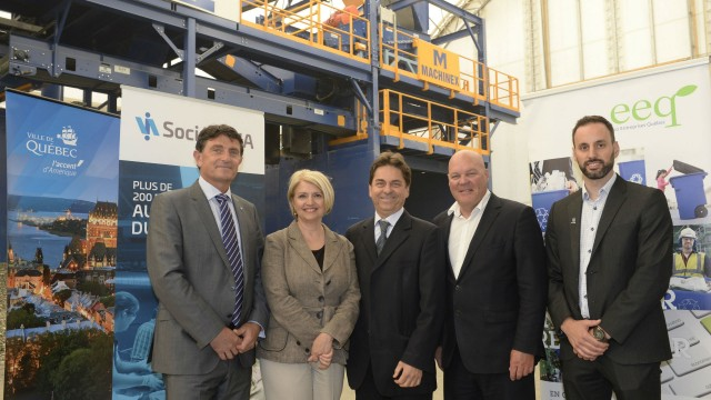 Innovative equipment in Quebec City Materials Recycling Facility marks a new era in glass recycling