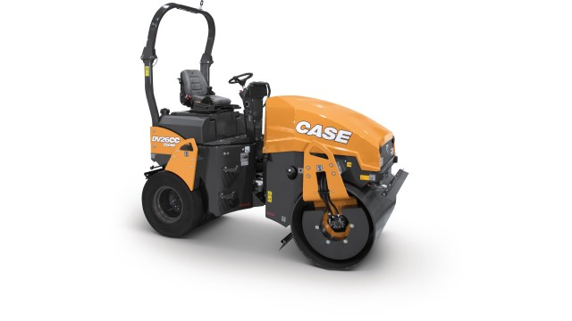 Case introduces two new small-frame combination vibratory rollers