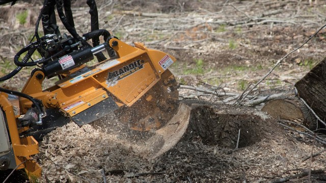 Stump grinder joins line of skid-steer attachments