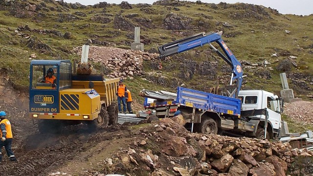 Agile and powerful off-road dumper