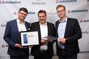 Scania connected vehicle solutions recognized with prestigious award