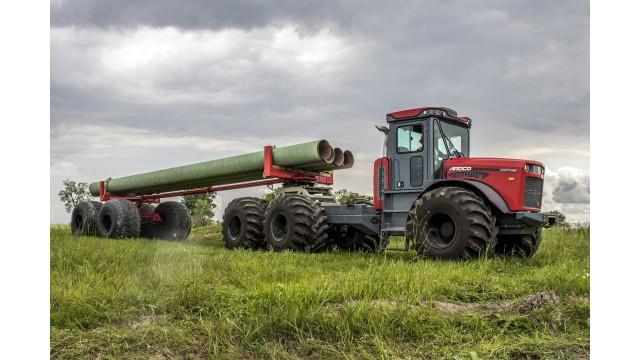 Pipe trailer for ARDCO articulated multi-purpose truck