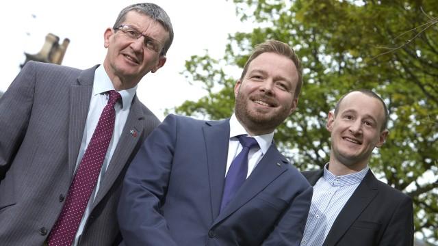 Alan Smith (Director, Matrix Risk Control), Peter Adam (MD, Add Energy) & Mark Rushton (MD, STC Global)