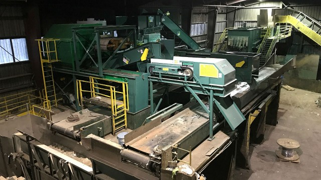 Winters Bros. mixed-materials MRF includes newly installed Green Eye optical sorting technology and an MSW separation screen which will provide significantly enhanced recovery of valuable materials
