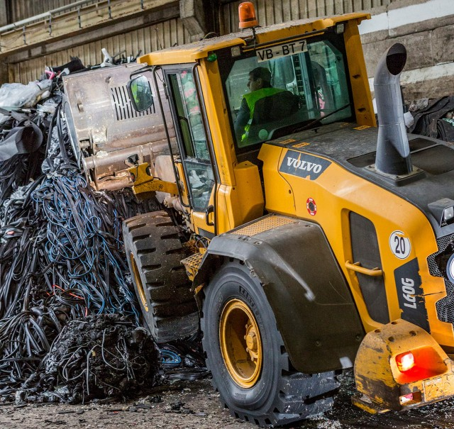 BKT TIRES designed for recycling operations