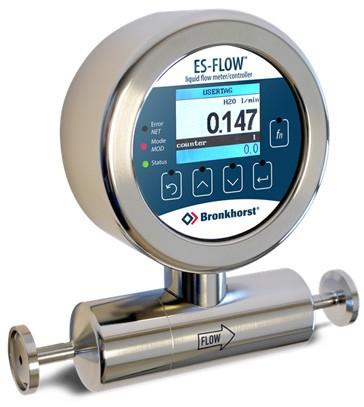Inline ultrasonic flow meter