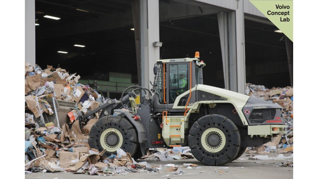 Prototype hybrid wheel loader shows 50 percent fuel efficiency improvement in testing