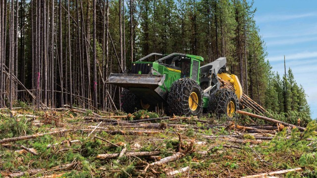 Upgrades to John Deere L-Series Skidders Increase Power and Performance