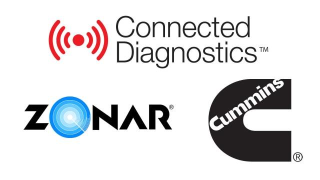 Cummins Connected Diagnostics available through Zonar fleet management solution