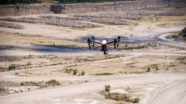 New program for UAVs allows quarries and mining operations to capture 3-D face profiles