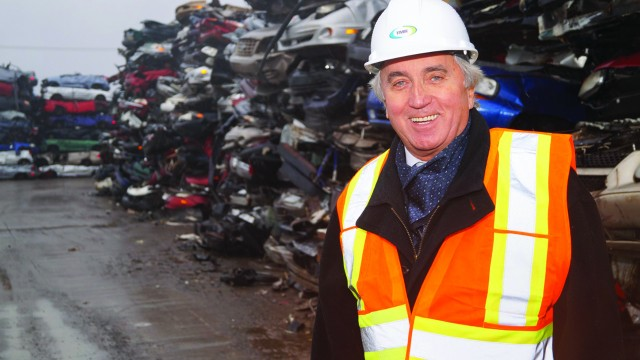 Jean-Guy Hamelin, president and CEO of Laval's Total Metal Recovery.