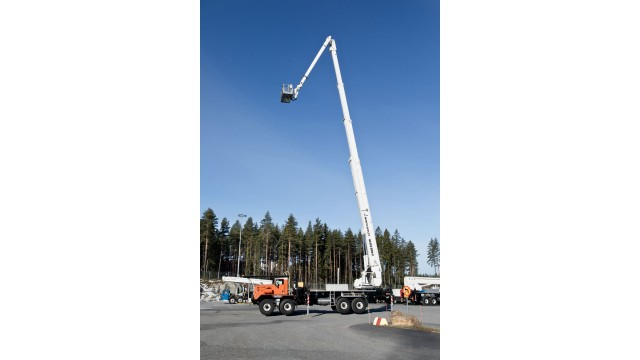 Insulated truck-mounted aerial platform