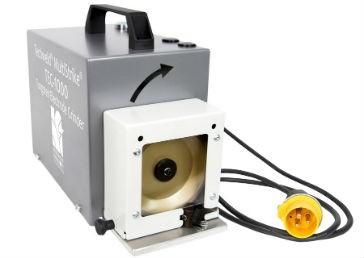 Tungsten electrode grinder improves weld quality