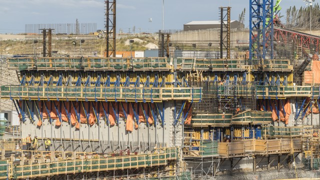 Doka used 3-D modelling to design the complex formwork.