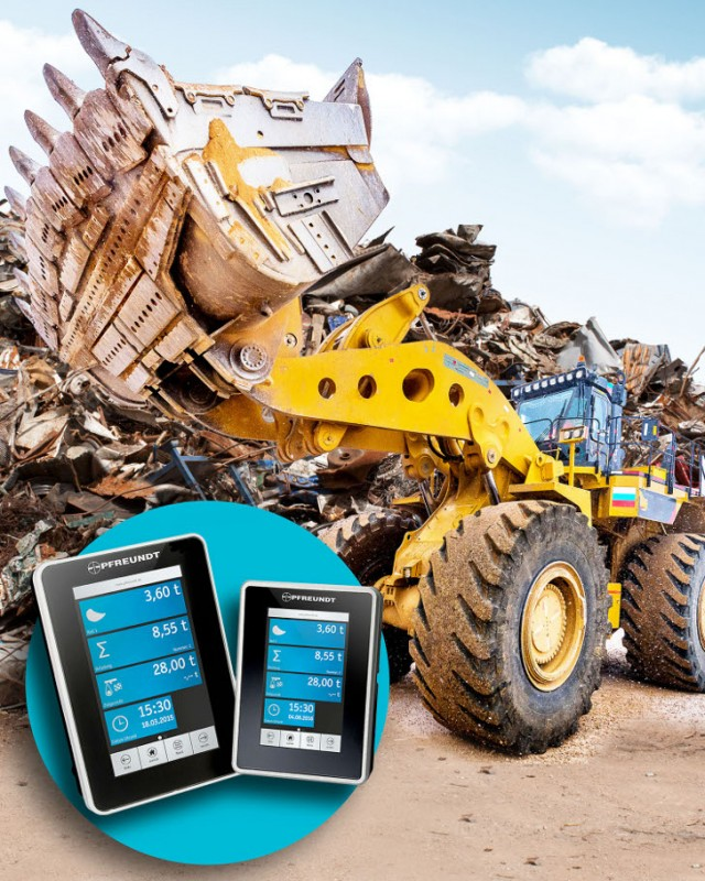 ​New wheel loader scale provides dynamic in-motion weighing