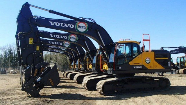 Strongco reaches Volvo excavator agreement with Tervita