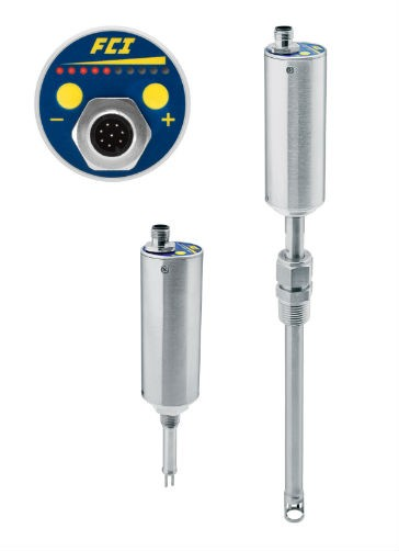 Flow monitor at the price of a flow switch for gas applications