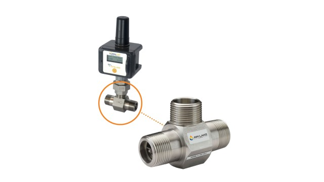 Turbine flow meter an easy drop-in replacement for many existing units
