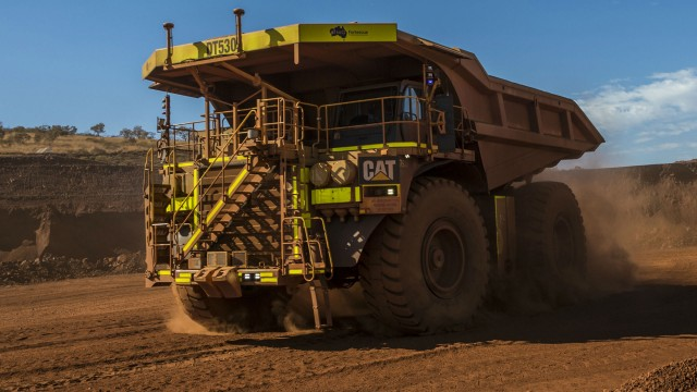 Autonomous fleet of Cat trucks expanding at Australian mines