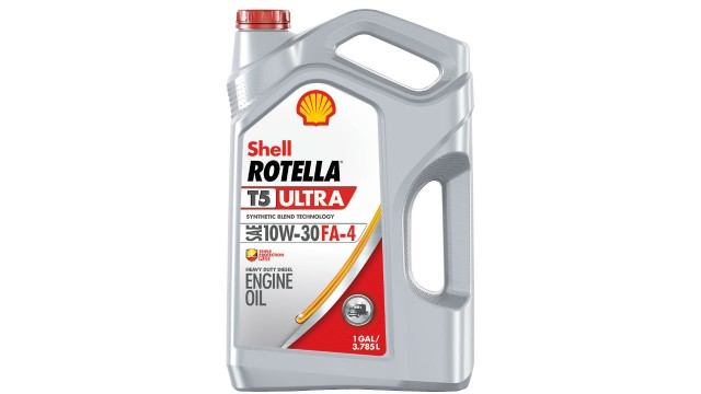 Shell Rotella oil designed for newest diesel engines