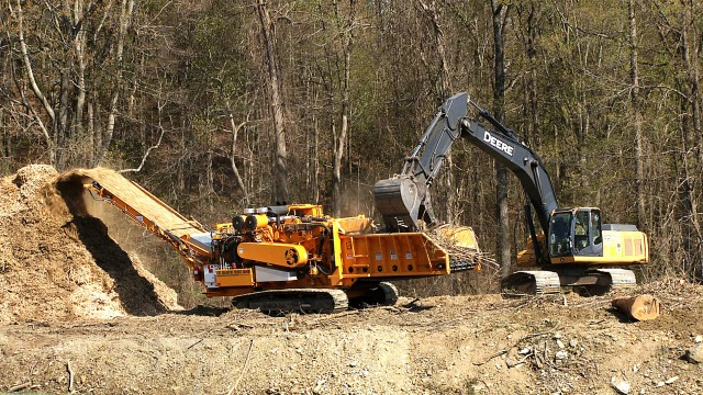 CBI sending industrial grinders south for debris cleanup
