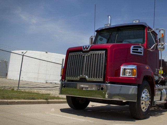 The Western Star 4700 can now be spec'd with factory-direct H4 halogen headlight bulbs.