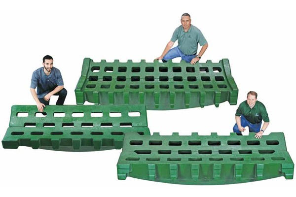 Shredder Double Beam Grates