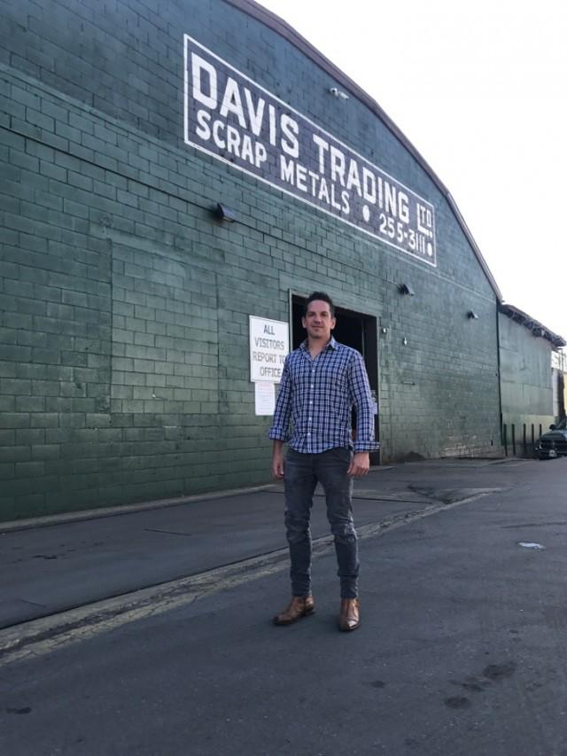 Gabe Davis is the fourth-generation owner of Davis Trading Ltd., Vancouver, B.C..