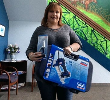 FLO Components celebrates first winner in 40th Anniversary giveaway
