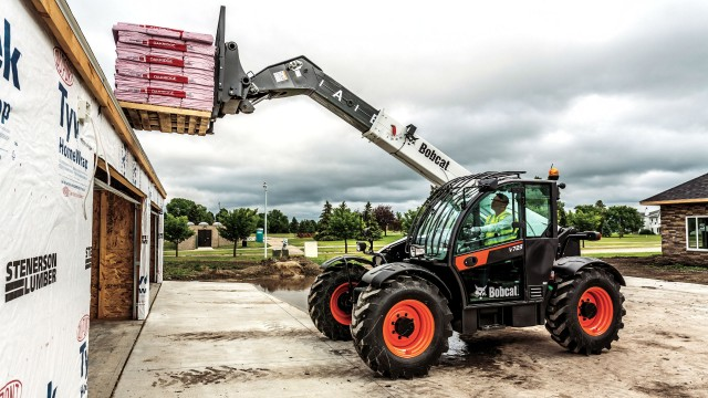 Bobcat adds V723 to telescopic tool carrier family