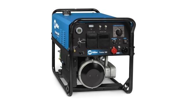 Versatile, lighter-weight welder/generator